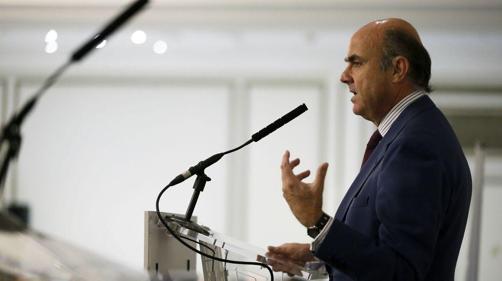 Foto: El ministro de Economía, Luis de Guindos. (EFE)