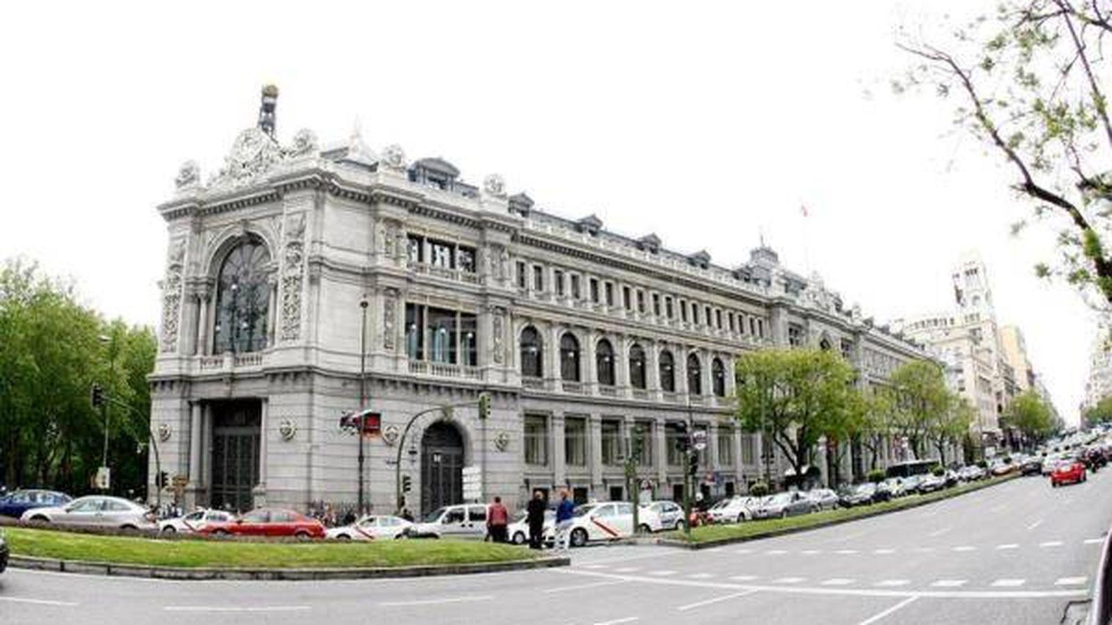Foto: Edificio del Banco de España.