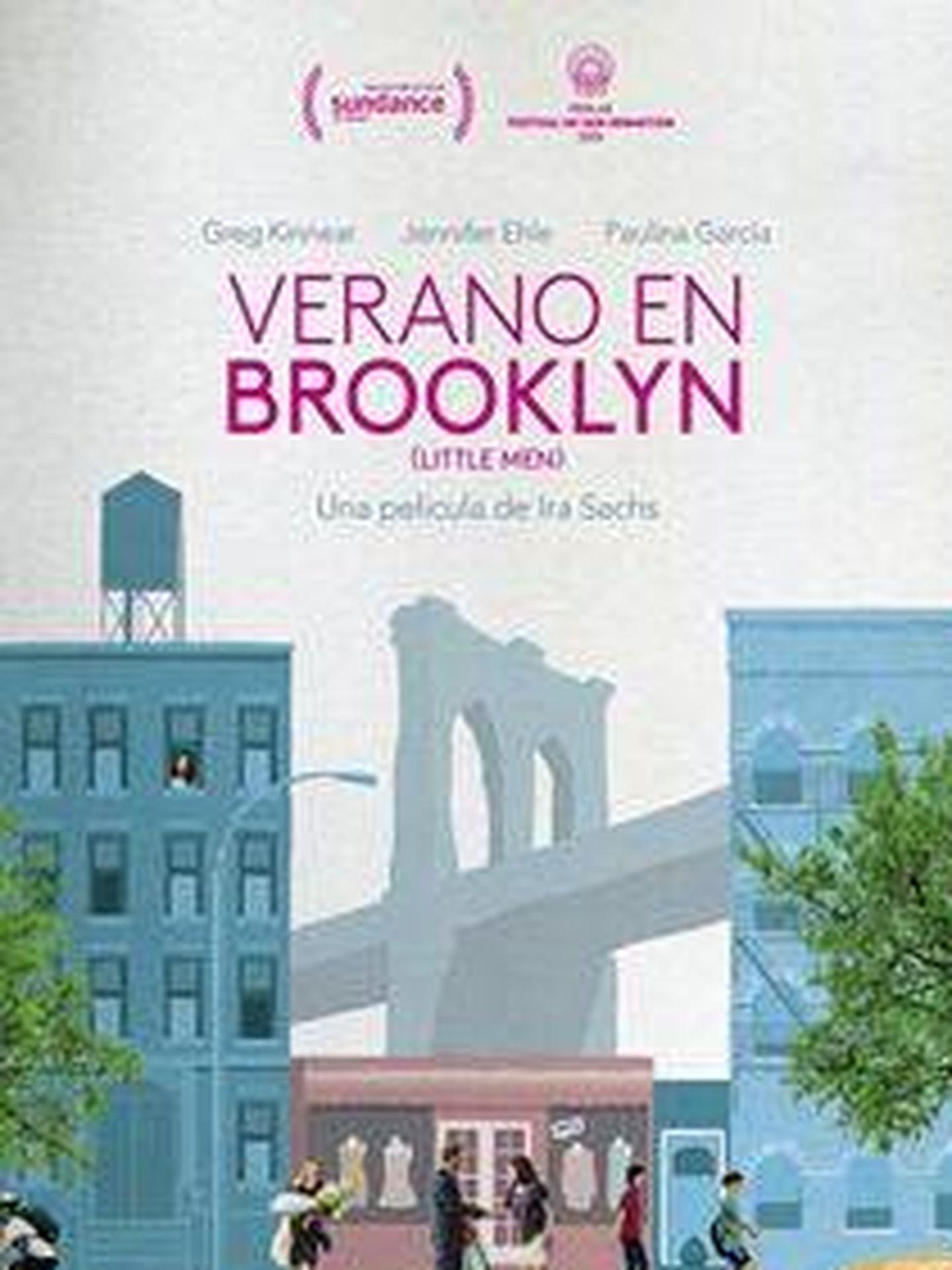 Cartel de 'Verano en Brooklyn'.