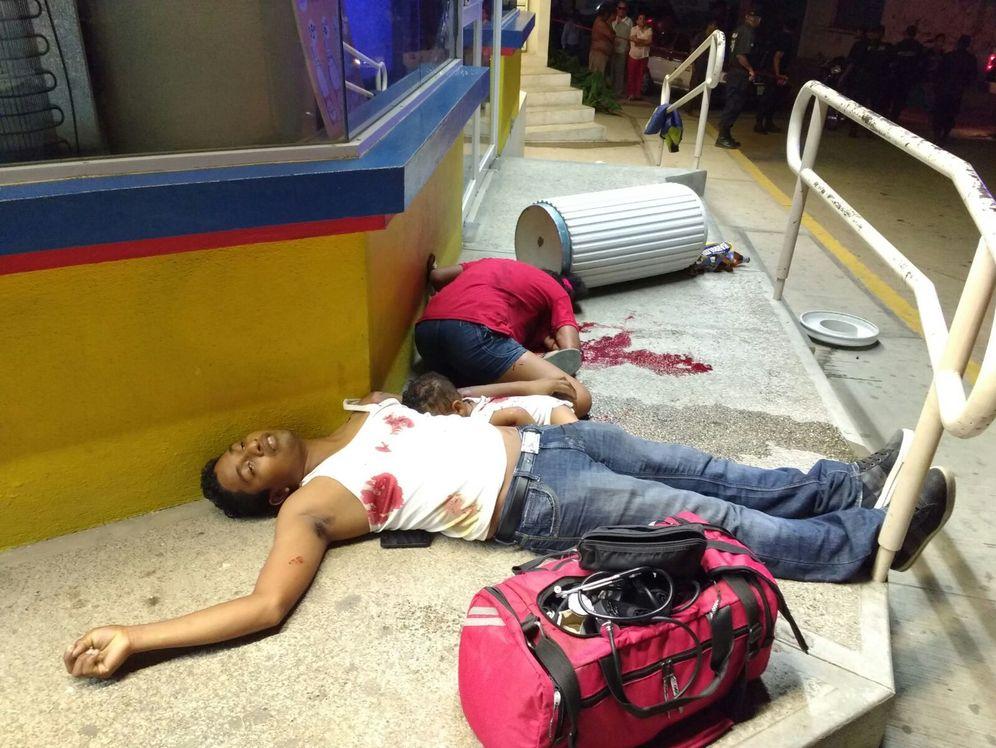 Foto: La familia asesinada en Pinotepa, incluyendo a un bebé de siete meses.