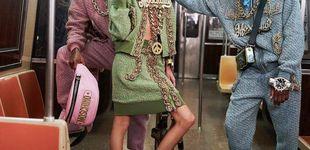 Post de Moschino toma el metro de Nueva York y desata la locura con su desfile