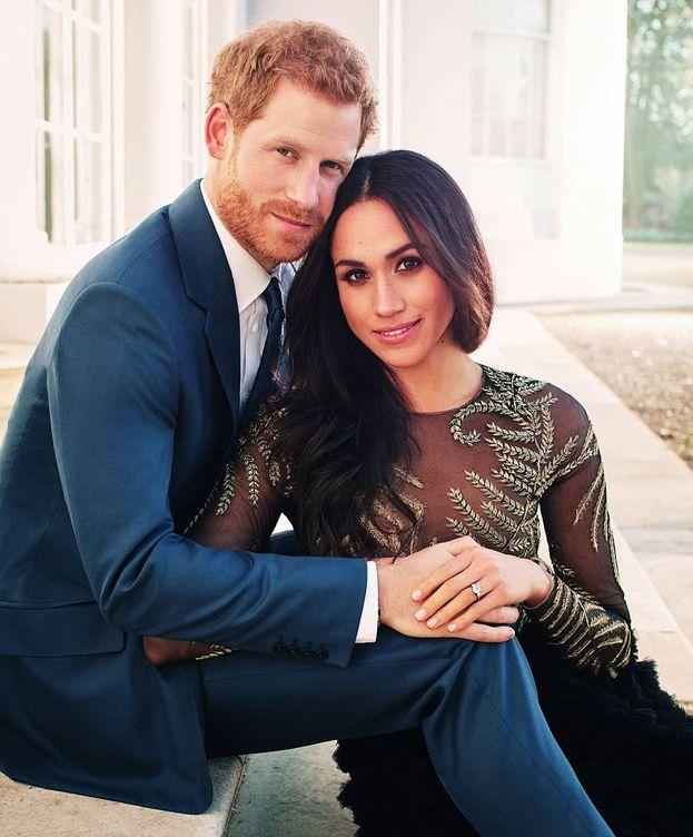 Foto: Fotografía oficial del príncipe Harry y Meghan Markle. (Kensington Palace)