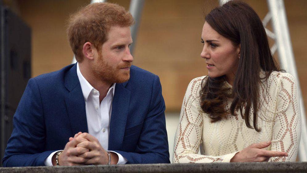 Foto: El príncipe Harry y Kate Middleton en una imagen de archivo. (Getty)