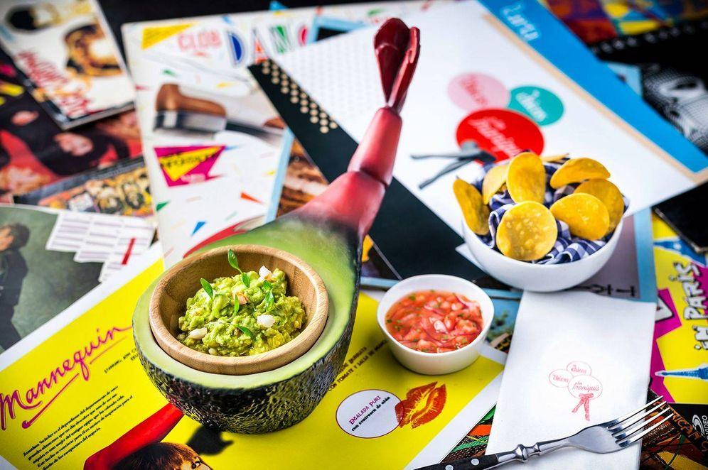 Foto: Nacho Pop, uno de los platos de la carta de Las chicas, los chicos y los maniquís.