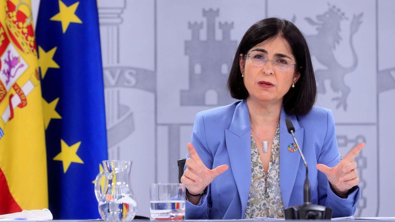 La ministra de Sanidad, Carolina Darias (EFE)