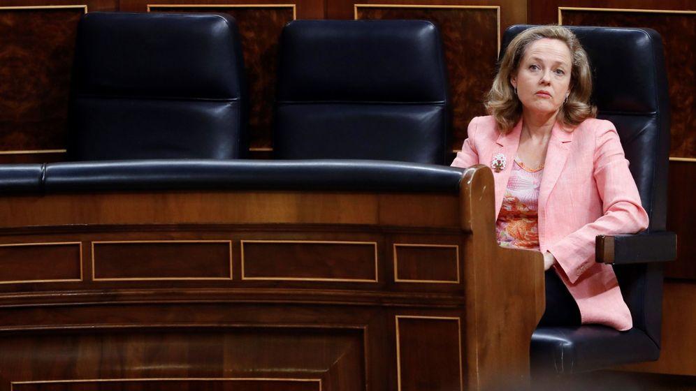 Foto: La vicepresidenta económica del Gobierno, Nadia Calviño. (EFE)