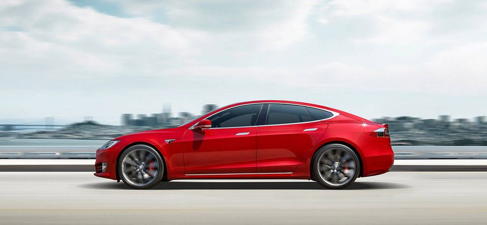 Foto: El Model S de Tesla
