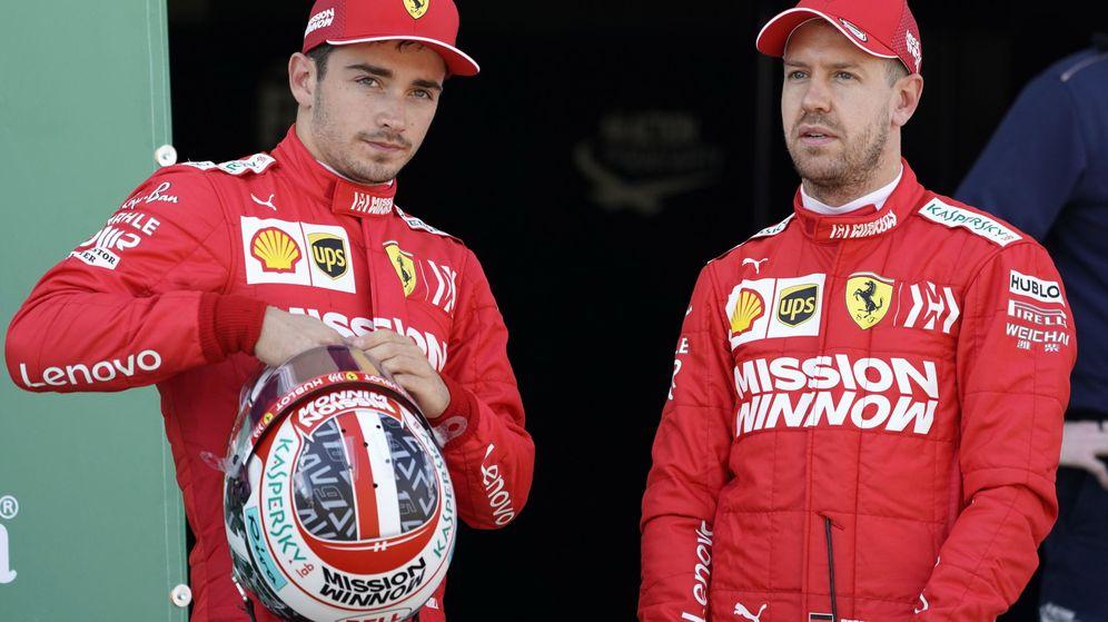 Foto: Sebastian Vettel criticó los nuevos cambios de la Fórmula 1 para 2021. (EFE)