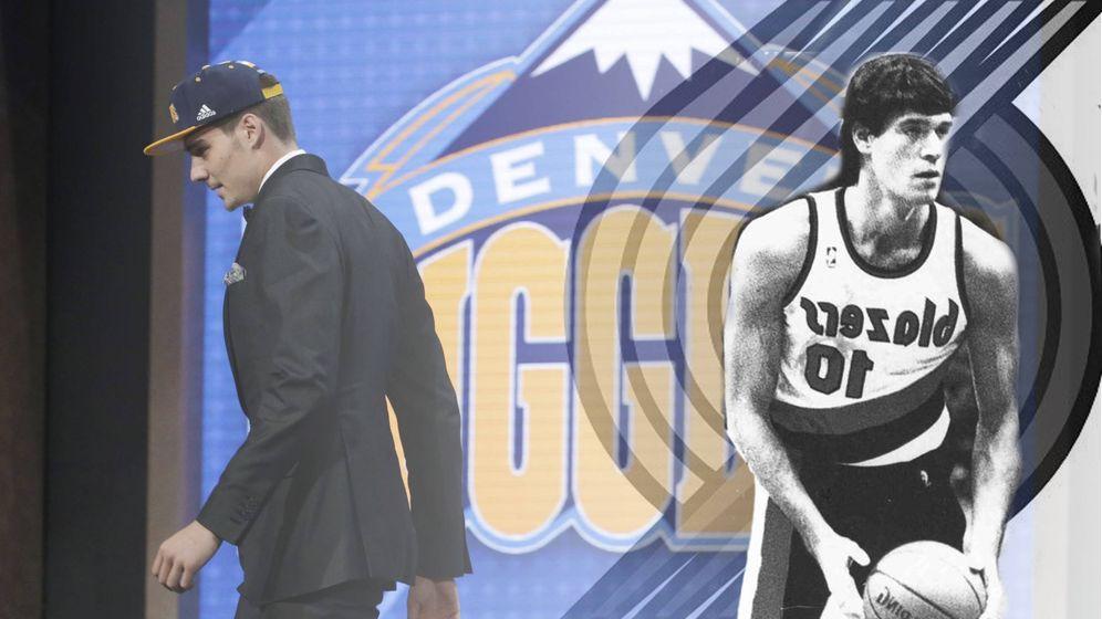 Foto: Juancho Hernangómez y Fernando Martín: pasado y futuro español de la NBA