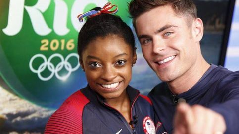 La gimnasta Simone Biles cumple otro de sus sueños en los JJOO: conocer a Zac Efron