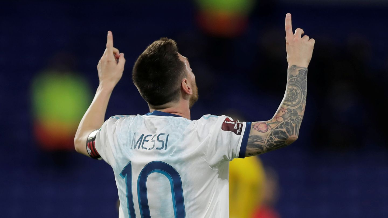 Leo Messi, durante un partido. (Reuters)