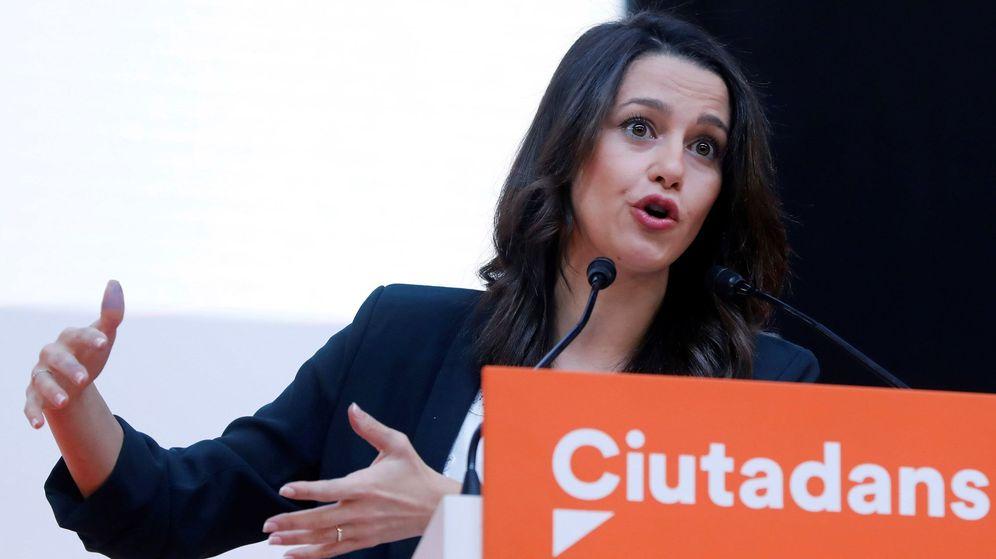 Foto: La candidata a la presidencia de la Generalitat, Inés Arrimadas. (EFE)