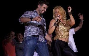 Piqué en el concierto de Shakira