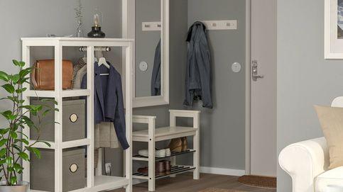 ¿Tu recibidor es pequeño? Ordénalo con este mueble de Ikea