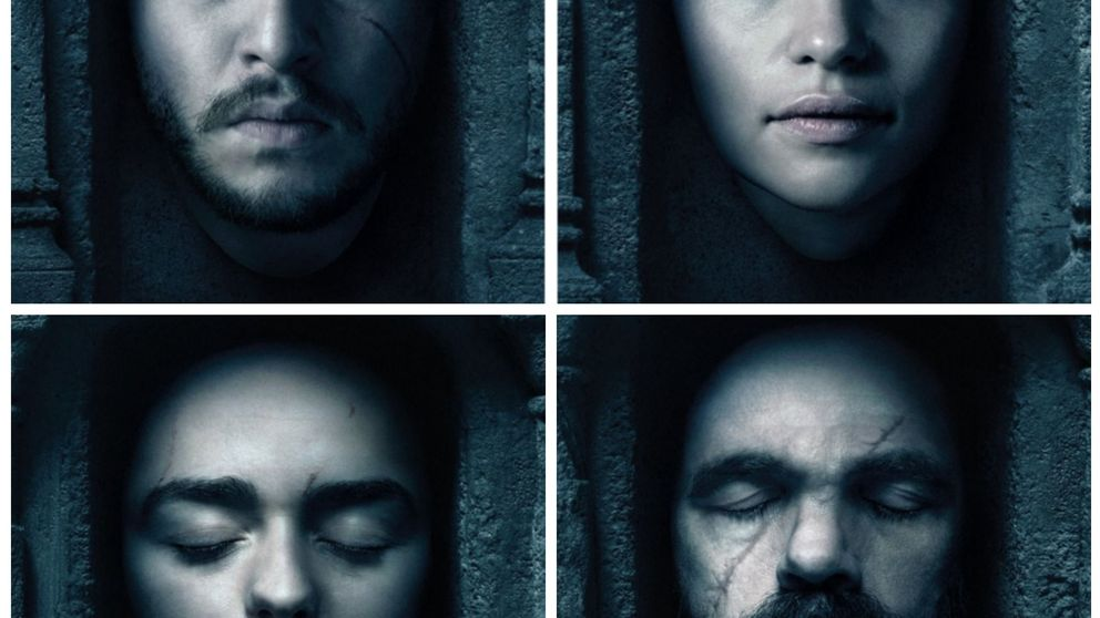 'Juego de Tronos' - Los nuevos y tétricos pósteres de la sexta temporada (con Jon Nieve incluido)