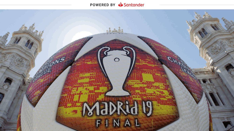 Liga, Champions y Libertadores: Santander vincula su marca a los valores del fútbol