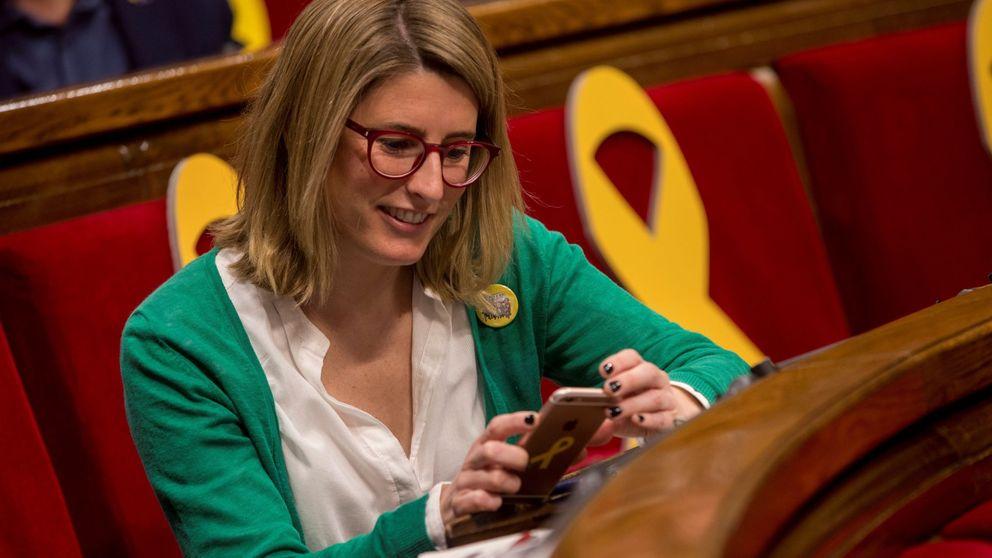 Esperando a Elsa Artadi: Quim Torra cierra un Govern simbólico y provisional