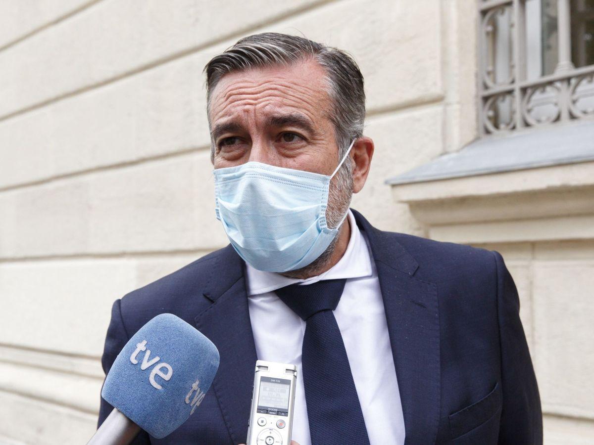 Foto: El consejero madrileño en funciones de Justicia, Interior y Víctimas, Enrique López. (EFE)