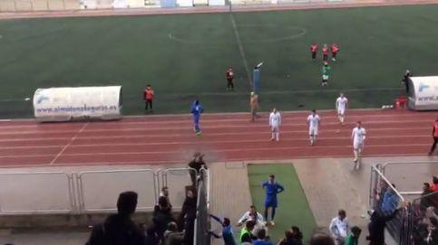 Peleas y pánico en un partido de Tercera entre el San Fernando y la RSD Alcalá
