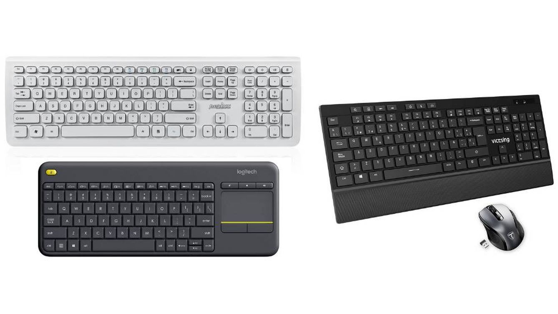 Los mejores teclados inalámbricos de PC para trabajar a distancia con tu ordenador