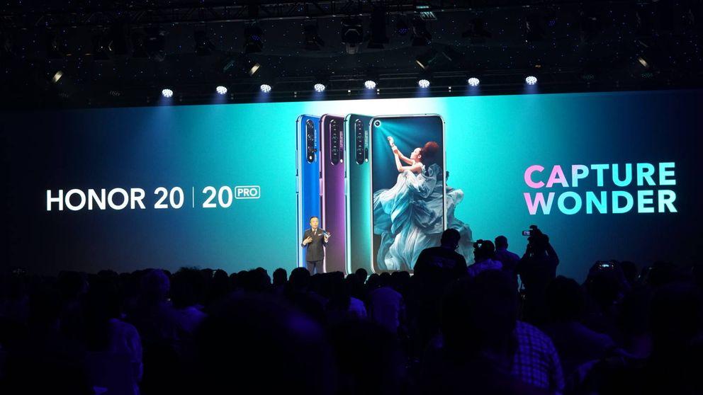 Huawei ni se inmuta en mitad del veto: estrena el Honor 20, su último gran Android