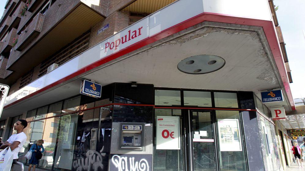 Foto: Oficina del Banco Popular. (EFE)