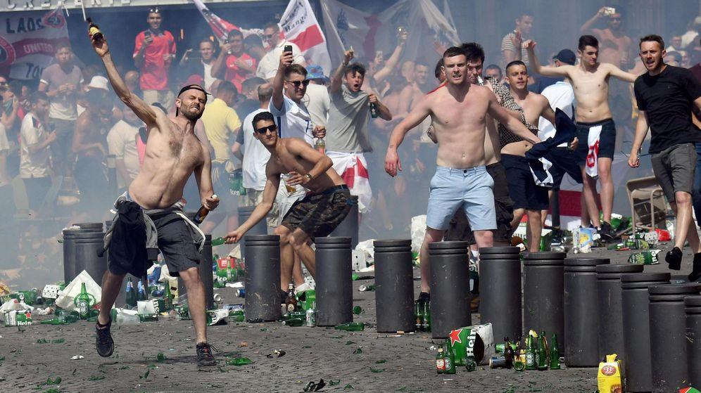 Foto: Los enfrentamientos se han convertido en la tónica general de esta Eurocopa (Reuters).