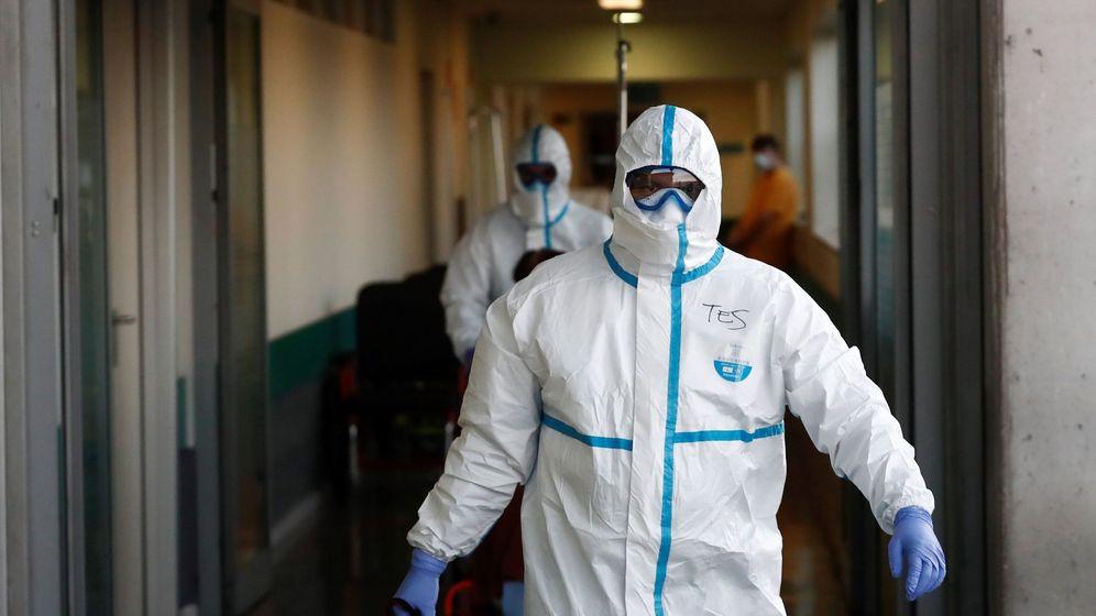 Foto: Los servicios de urgencias hoy jueves en el hospital Infanta Leonor, en Madrid. (EFE)