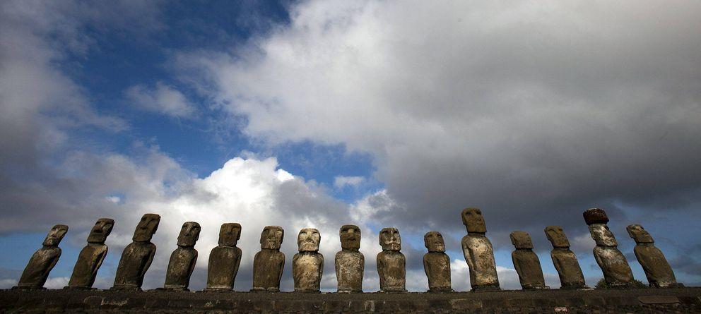 Foto: La Isla de Pascua, uno de los principales destinos turísticos de Chile (EFE)