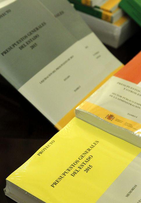 Foto: Proyecto de ley de Presupuestos Generales del Estado 2015 (Efe)