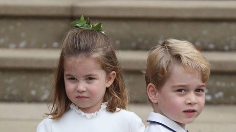 Las caras de Charlotte y George se aparecen en las rodillas de Meghan Markle (OMG!)