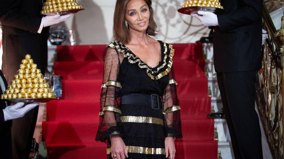 Foto: Isabel Preysler, en la fiesta Ferrero Rocher. (Getty)