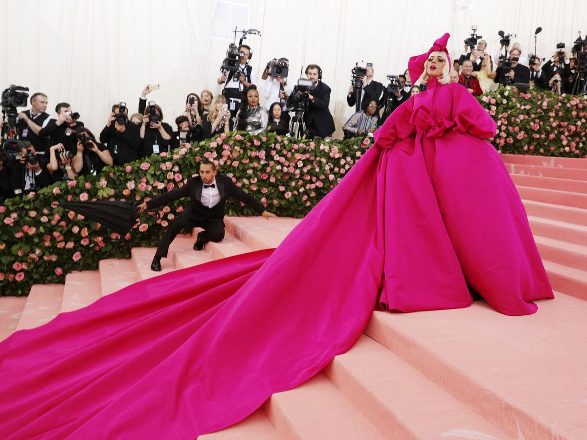 Foto: Lady Gaga, en la gala MET. (EFE)