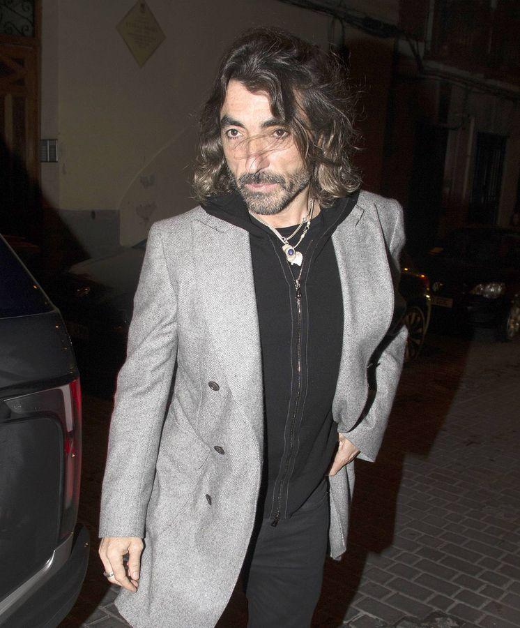 Foto: Javier, en el 50 cumpleaños de Eugenia Martínez de Irujo. (Cordon Press)