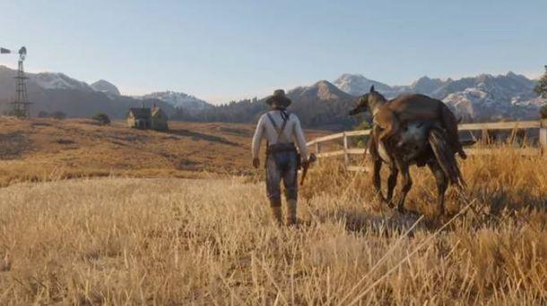 Foto: Una de las escenas del tráiler de 'Red Dead Redemption 2'