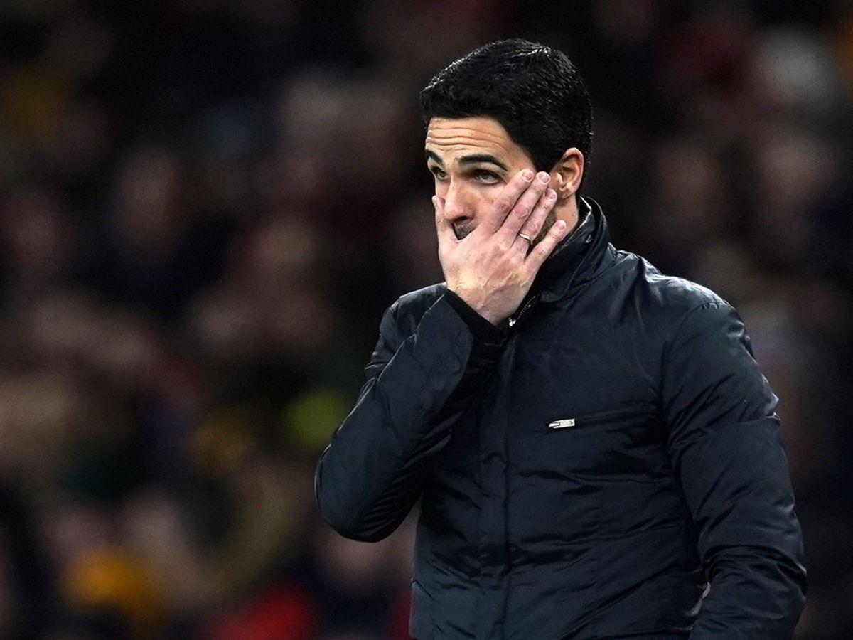 Foto: Mikel Arteta, entrenador del Arsenal. (EFE)