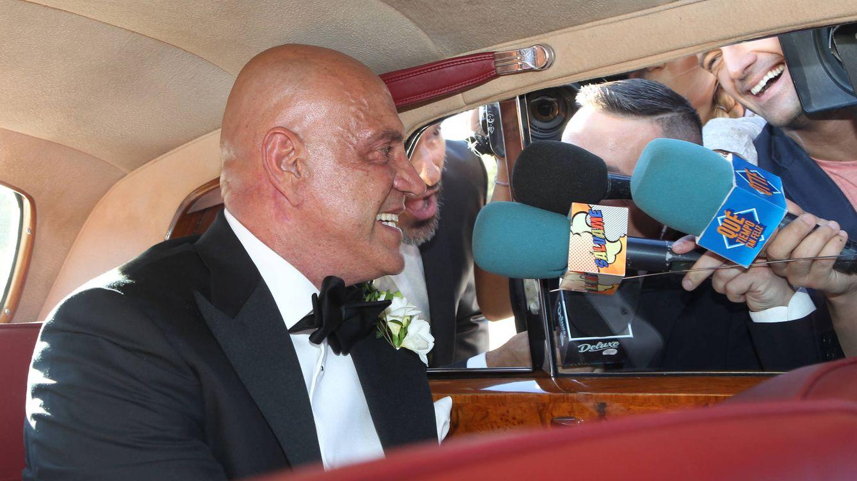 Foto: Kiko Matamoros en el momento de su llegada (Gtres)