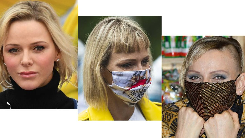 Charlène, con diferentes looks. (Cordon Press / Getty)