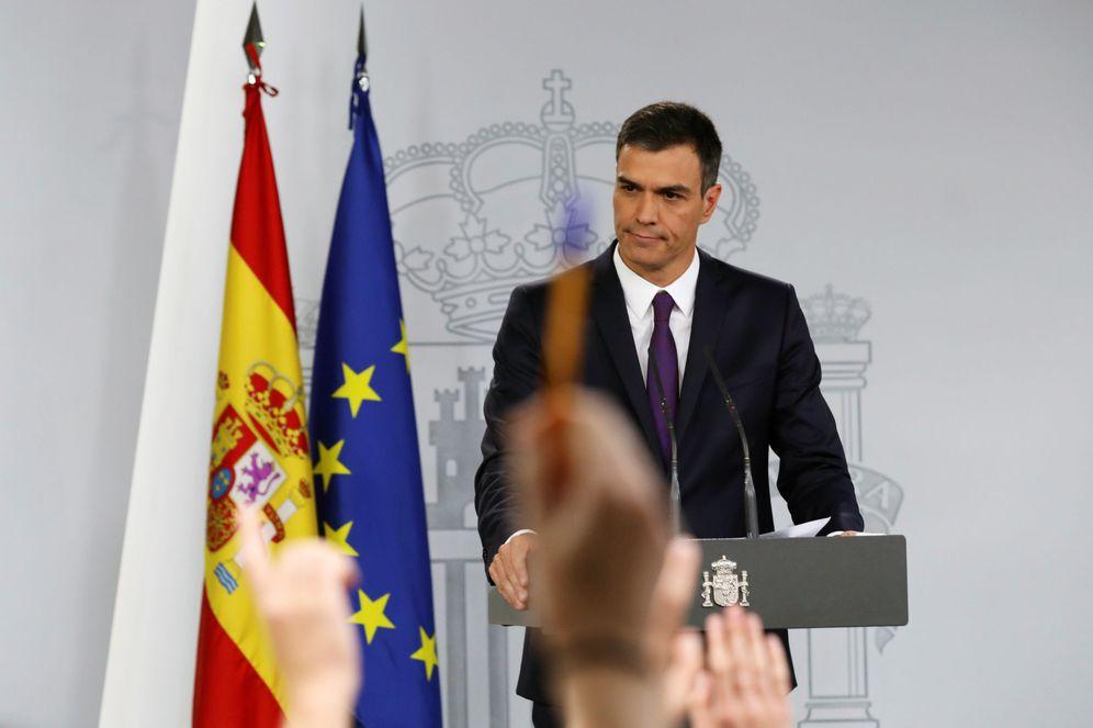 Foto: Pedro Sánchez, durante su rueda de prensa en La Moncloa de este 3 de agosto. (Reuters)
