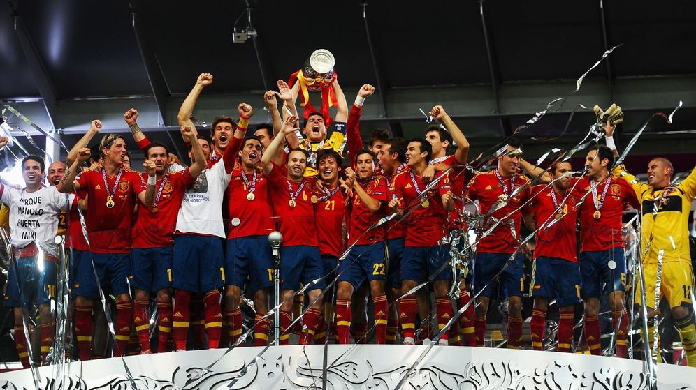Foto: La selección española hizo historia tras el título de 2012 (Reuters).
