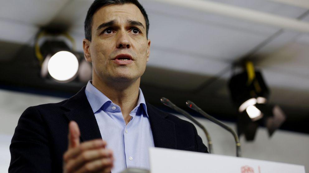 Sánchez busca el pacto con Podemos y C's porque a los tres les une el cambio