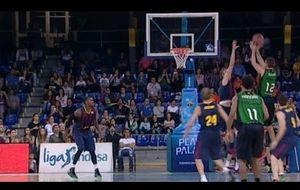 Suton fulima al Barça en el Palau