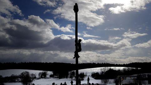 El fin del invierno en Rusia y Javieradas en Pamplona: el día en fotos
