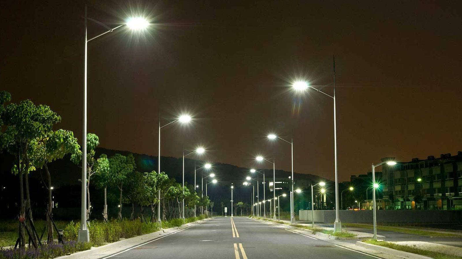 Foto: Las luces LED aumentan la contaminación lumínica (y los riesgos de salud).