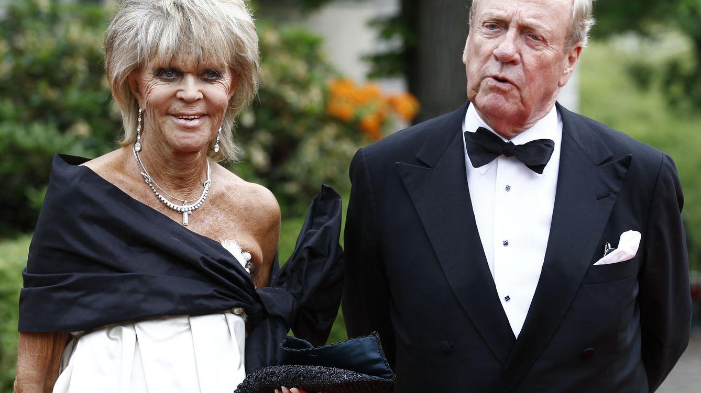 Foto: La princesa Birgitta con su marido, el príncipe Hohenzoller