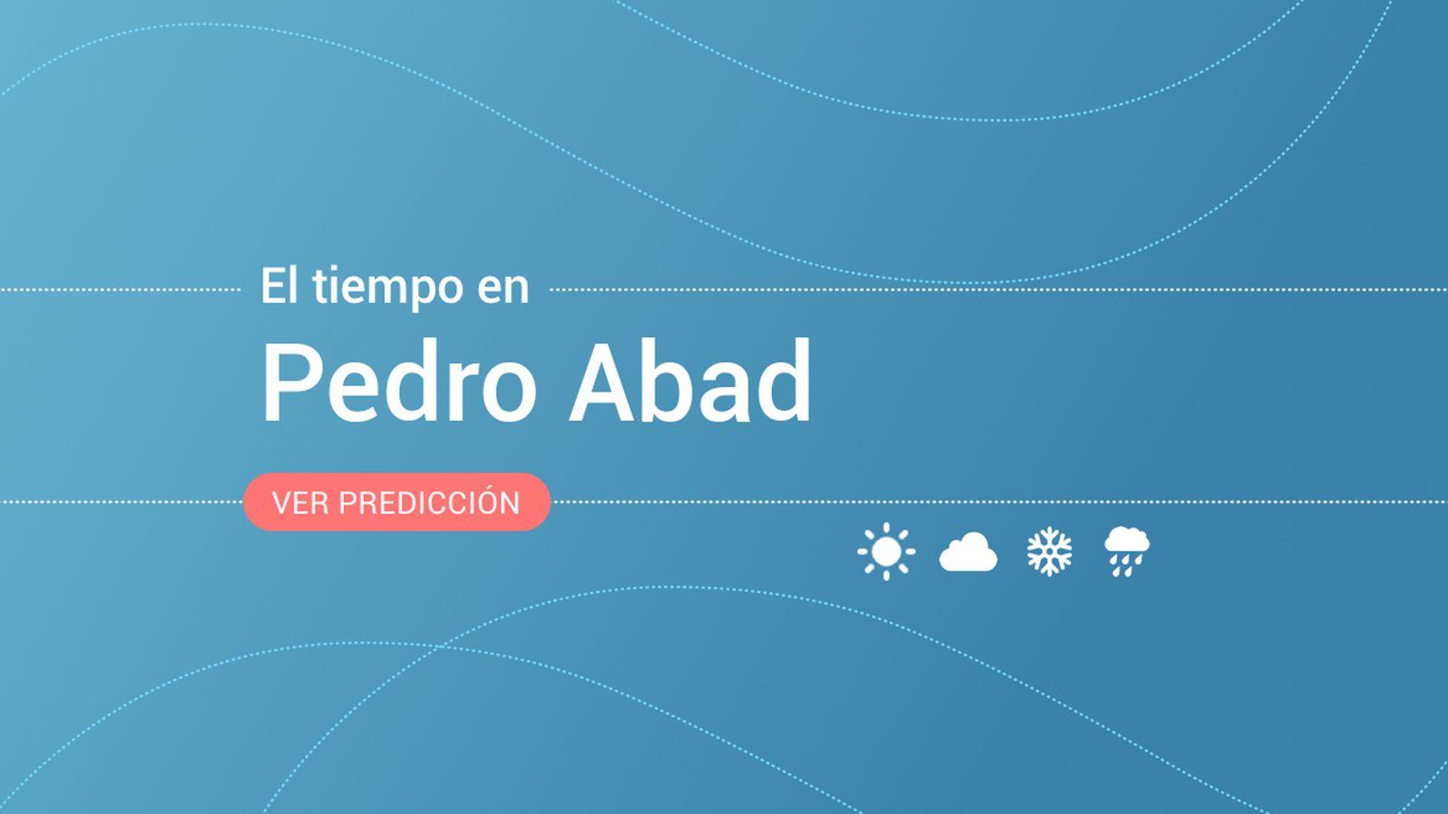 Foto: El tiempo en Pedro Abad. (EC)