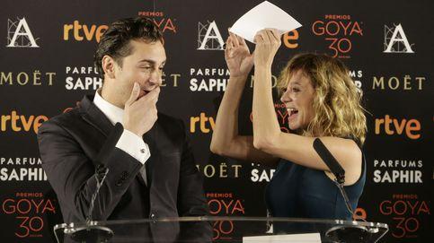 Asier Etxeandía se entera de su nominación a los Goya en directo