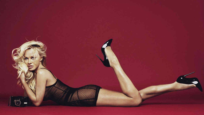 Pamela Anderson en una imagen de la campaña de Coco de Mer.