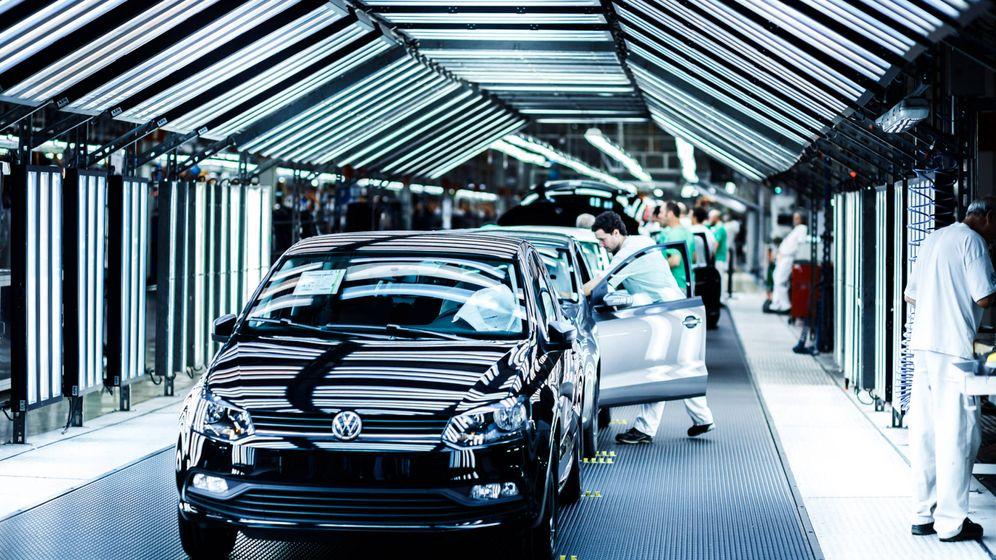 Foto: Planta de Landaben en la que se fabrican el Volkswagen Polo y el T-Cross.