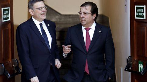 Los presidentes socialistas celebran el nuevo camino de diálogo territorial con Rajoy